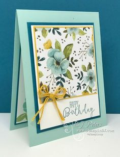 Special Celebrations, A Whole Lot of Lovely, Stampin' Up!, BJ Peters, Stampin BJ