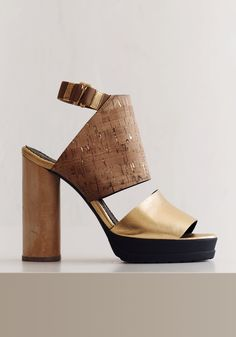 gold + cork + wood--Rodebjer