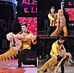 Week 8 - Dance Off Alek vs Andy//Andy won #dwts #dancingwiththestars