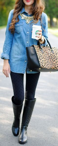 Leo Tote Fall Inspo by Southern Curls and pearls