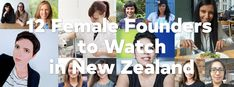 12 Female Founders from New Zealand – Women Young People, Teacher Resources, Role Models, New Zealand, Innovation, Entrepreneur, Science, Female, News