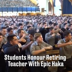 After 30 years of teaching these students say goodbye with an emotional Haka