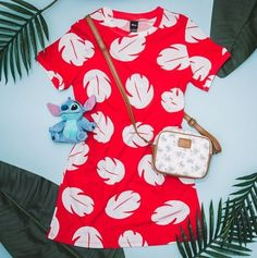 Shirt Dress baddie Disney Lilo & Stitch Lilo T-Shirt Dress Add a flower to your hair and you are set! 🌺 // Disney Lilo & Stitch Lilo T-Shirt Dress Disney Character Outfits, Cute Disney Outfits, Disney Themed Outfits, Character Inspired Outfits, Disney Bound Outfits, Disney Dresses, Girl Outfits, Disney Fancy Dress, Anime Inspired Outfits