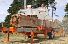 Norwood LumberMan MN26 Sawmill 13HP Briggs OHV at Scott+Sargeant Woodworking Machinery / UK