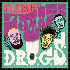 "1st Official Mixtape From Flatbush Zombies, Including the Hit Single ""Thug Waffle"""