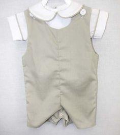 291911  Baby Boy Clothes  Baby Boy Easter Jon Jon  by ZuliKids