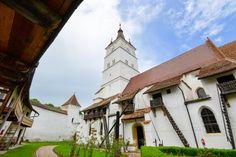 Die gewaltige Kirchenburg in Hărman ist eine der besterhaltenen Kirchenburgen Rumäniens und hat einige bauliche Besonderheiten zu bieten