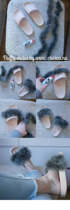 DIY – FLUFFY SLIDES |
