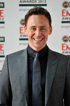 Tom Hiddleston at Jameson Empire Awards 2012 [HQ] Thomas William Hiddleston, Tom Hiddleston Loki, British Men, British Actors, Beautiful Men, Beautiful People, Beautiful Teeth, Amazing People, Amazing Things