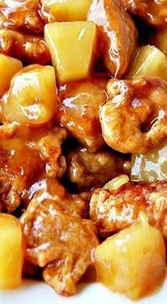 Chinese Pineapple Chicken Recipe #chinesefoodrecipes