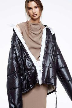 bernhard willhelm puffer jacket photographed by marissa findlay for blkonblk #5