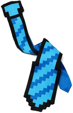 The 8 Bit Tie from GlobalZombie. Stylish Tie Looks just like what Mario wore to his high-school graduation.