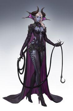 Female Drow Tiefling Cleric of Lolth Dark Fantasy Art, Fantasy Women, Fantasy Girl, Fantasy Artwork, Fantasy Character Design, Character Drawing, Character Concept, Character Inspiration, Dnd Characters