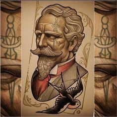 Diseño disponible / available design de @andresinkman. Para citas / for bookings info@goldstreetbcn.com #tattoo #goldstreettattoo #barcelona