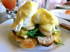 Eva's Egg's Benedict at Eva's in downtown Salt Lake City.