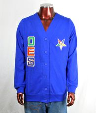 Order of the Eastern Star OES Lightweight Cardigan