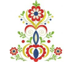 Výšivka Vajnory - kožuch stred, 4 farby, 20 x 24 cm Hungarian Embroidery, Folk Embroidery, Embroidery Patterns, Polish Folk Art, Scandinavian Folk Art, Mural Wall Art, Stencil Diy, Heart Art, Painting Patterns