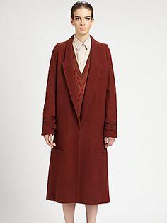 Maison Martin Margiela Firebrick Overcoat