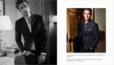 Jon Kortajarena for HandM Holiday 2014 Lookbook