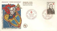Timbre : 1964 JEAN-NICOLAS CORVISART 1755-1821   WikiTimbres