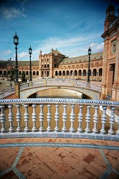 Eximus Wide and Slim + Kodak Ektar 100  Plaza de España, Seville   Barcelona Airport Private Arrival Transfer Excursions in Barcelona Holidays in Barcelona Sightseeing tours, airport transfers, taxi, interpreter and your personal guide in Bar