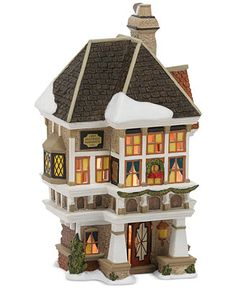 Department 56 Dickens' Village Nephew Fred's Home Collectible Figurine - Christmas Villages - For The Home - Macy's