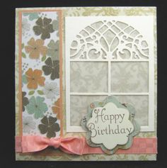 Beautiful detailed Window From Cheery Lynn Designs by casper5209 - Cards and Paper Crafts at Splitcoaststampers