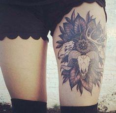 12 coola tatueringsidéer för låret