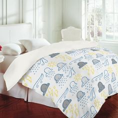 DENY Designs Jennifer Denty Clouds Duvet Cover Collection