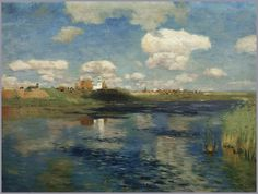 Isaak Levitan. The Lake, Study. 1898-1999, Tretyakov Gallery