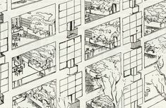 Freehold Maisonettes: The Hanging Gardens / Corbusier / Towards A New Architecture