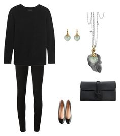 """""""#4"""" by cindrof on Polyvore featuring Ole Lynggaard, Burberry, Hermès, J.Crew and Tod's"""