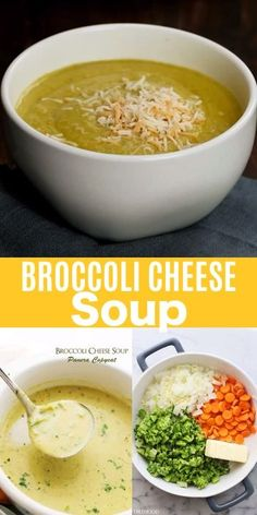 Broccoli Cheese Soup Panera Copycat - If you love Panera Bread's Broccoli Chedda.- Broccoli Cheese Soup Panera Copycat – If you love Panera Bread's Broccoli Cheddar Soup you are going to be amazed with this copycat recipe! Panera Broccoli And Cheese Soup Recipe, Puree Soup Recipes, Broccoli Soup Recipes, Pureed Food Recipes, Healthy Recipes, Kids Soup Recipes, Recipes With Celery, Blended Soup Recipes, Vitamix Soup Recipes