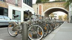 Velib--bikes for getting around Paris. Love it!!