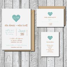 Wedding Invitations - Romance