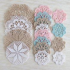 #knitting #crochet #doily