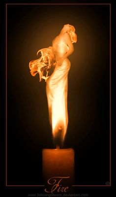 I picture women in most everything I see. To get a glimpse of the Fire Goddess though, is a rare but wonderful treat.