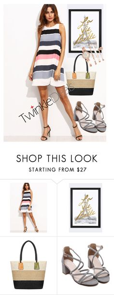 """""""dress"""" by masayuki4499 ❤ liked on Polyvore featuring iCanvas and Anne Klein"""