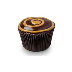 Chocolate Peanut Butter Swirl Cupcakes ❤ liked on Polyvore featuring food, cupcakes, food & drinks, food and drink and preto