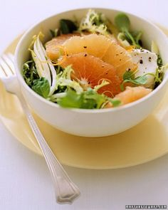 See the Mixed Lettuces with Grapefruit, Goat Cheese, and Black Pepper in our Grapefruit Recipes gallery