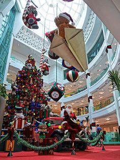É Natal... Shopping Leblon, Rio de Janeiro, Brasil. :-)