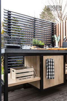 Backyard Bar, Backyard Patio Designs, Backyard Projects, Bbq Kitchen, Outdoor Kitchen Design, Outdoor Grill Station, Backyard Creations, Outdoor Living, Outdoor Decor