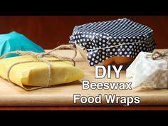 DIY Beeswax Food Wraps - YouTube