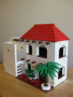 Lego Spanish Colonial 2. #LEGO model by Allan.