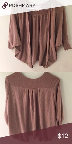 Shrug Sweater - PAC Sun Light short sleeve shrug from Pac Sun. Lightly worn, perfect condition Kirra Sweaters Shrugs & Ponchos
