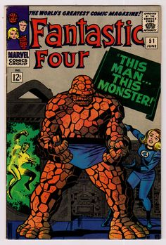 Fantastic Four #51 first appearance of the Negative Zone.
