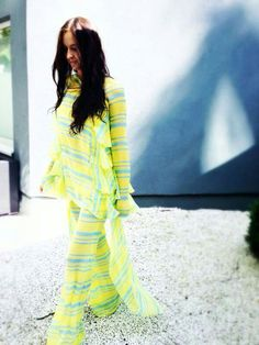 Amazing Mila Schon outfit SS14