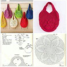 Marvelous Crochet A Shell Stitch Purse Bag Ideas. Wonderful Crochet A Shell Stitch Purse Bag Ideas. Free Crochet Bag, Crochet Market Bag, Crochet Tote, Crochet Handbags, Crochet Purses, Love Crochet, Crochet Stitches, Crochet Video, Crochet Diagram