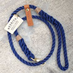 Handmade RESQ Co. Rope Dog Leash 1/2 Diameter Handmade Leash 4-4.5ft. Length (varies due to being handmade) 3-strandpremium gradeline that features afive tuck hand splicedhandle with secured ends. We do not merely melt the ends of the rope together or use a rope clamp to hold rope together. Each leash features asolid brass swivel quick [...]