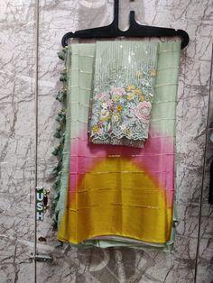 Cotton Saree Designs, Saree Kuchu Designs, Wedding Saree Blouse Designs, Hand Work Blouse Design, Stylish Blouse Design, Saree Jewellery, Saree Floral, Block Print Saree, Stylish Sarees